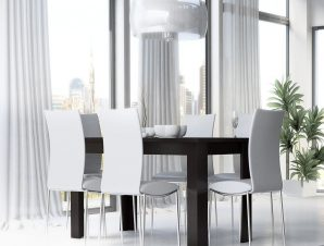 Τραπέζι Ανοιγόμενο Νο. 81 Fay 160×90 Wenge
