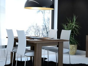 Τραπέζι Κουζίνας Ανοιγόμενο Νο. 80 120x78x72 Wallnut