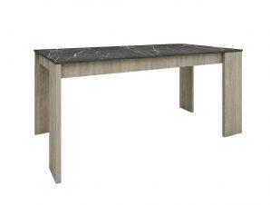 Τραπέζι Petra 02-0371 170x90xH76cm Dark Sonoma