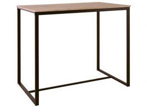 Τραπέζι Μπαρ Henry Dark Brown/Sonoma ΕΜ9795,1Τ 100x60x86cm