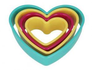 Cut Pat Πλαστικό 4τμχ Καρδιά Metaltex – METALTEX – 16-259122