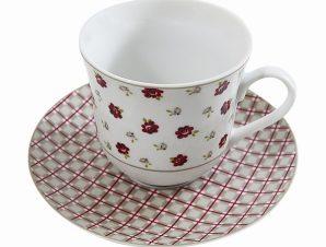 Σετ 6τμχ Φλυτζάνια Τσαγιού Πορσελάνης Country (Υλικό: Πορσελάνη) – AB – 6-773-tea