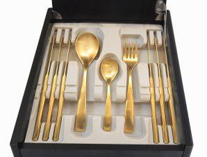 Σετ Μαχαιροπήρουνα 30τμχ Ανοξείδωτα Comas Barcelona Gold – Comas – 6-barcelona-gold-30