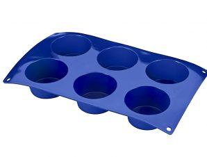 Φόρμα Σιλικόνης 6Θέσεων Muffins METALTEX 6εκ.16-222171 (Υλικό: Σιλικόνη) – METALTEX – 16-222171