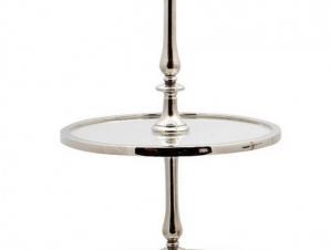 Ορντερβιέρα 3 Όροφη Ανοξείδωτη-Γυάλινη ESPIEL 43-30-23×71εκ. GET251 (Υλικό: Γυαλί) – ESPIEL – GET251-1