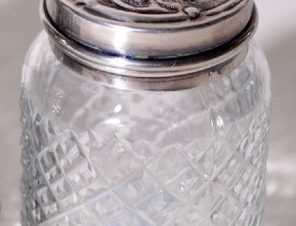 Μικρό Δοχείο Αντικέ-Γυάλινο Royal Art 8εκ. HAQ591 (Υλικό: Μεταλλικό, Χρώμα: Αντικέ) – Royal Art Collection – HAQ591