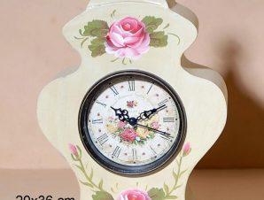 Επιτραπέζιο Ρολόι Ξύλινο 20×36εκ. CAV6754 (Υλικό: Ξύλο) – Royal Art Collection – CAV6754