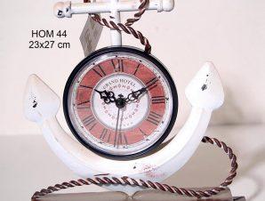 Επιτραπέζιο Ρολόι Μεταλλικό Royal Art 23×27εκ. HOM44 (Υλικό: Μεταλλικό) – Royal Art Collection – HOM44