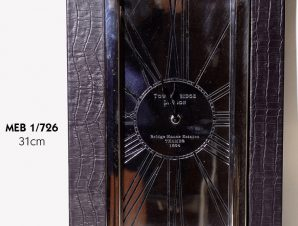 Ρολόι Τοίχου Μεταλλικό-Δερμάτινο Royal Art 31εκ. MEB1/726 (Υλικό: Μεταλλικό) – Royal Art Collection – MEB1/726
