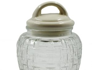 Δοχείο Γυάλινο-Κεραμικό Royal Art 1400ml DUE8829 (Υλικό: Γυαλί) – Royal Art Collection – DUE8829