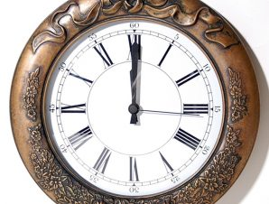 Ρολόι Τοίχου Μπρούτζινο Αντικέ Καφέ 31x34x40εκ. Royal Art STL1187BR (Χρώμα: Καφέ, Υλικό: Μπρούτζινο) – Royal Art Collection – STL1187BR