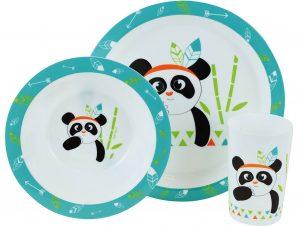 Παιδικό Σετ Φαγητού 3τμχ Indian Panda ANGO 005672 (Υλικό: Πολυπροπυλένιο) – ango – ANGO_005672