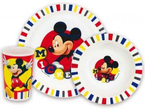 Παιδικό Σετ Φαγητού 3τμχ Mickey ANGO 005606 (Υλικό: Πολυπροπυλένιο) – ango – ANGO_005606