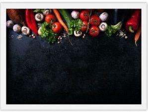 Βασικά Υλικά Φαγητό Πίνακες σε καμβά 40 x 60 cm