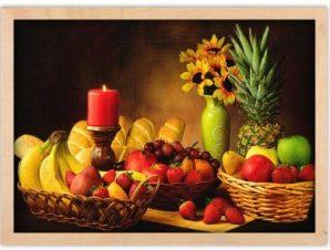 Ποικιλία φρούτων Φαγητό Πίνακες σε καμβά 40 x 60 cm