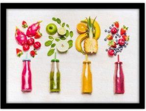 Φρούτα Φαγητό Πίνακες σε καμβά 43 x 59 cm