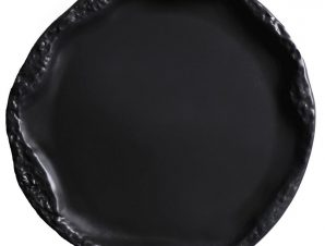 Πιατέλα Volcano Black Dust ESPIEL 30X2,3εκ. QAB104K4 (Χρώμα: Μαύρο) – ESPIEL – QAB104K4