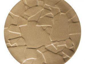 Πλατώ Πορσελάνης Volcano Sand ESPIEL 29×1,8εκ. QAC108K4 (Υλικό: Πορσελάνη, Χρώμα: Μπεζ) – ESPIEL – QAC108K4
