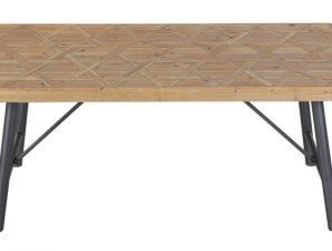 Τραπέζι Μεταλλικό – Ξύλινο 180x90x75εκ. ESPIEL DIL103 (Υλικό: Ξύλο) – ESPIEL – DIL103