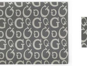 Σουβέρ Σετ 6τμχ Polyester ESPIEL 10×10εκ. HEN108 (Ύφασμα: Polyester, Χρώμα: Γκρι) – ESPIEL – HEN108
