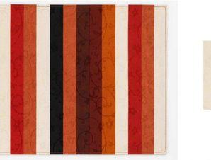 Σουβέρ Σετ 6τμχ Polyester ESPIEL 10×10εκ. HEN106 (Ύφασμα: Polyester) – ESPIEL – HEN106