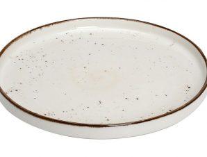 Πιάτο Ρηχό Πορσελάνης Terra Cream ESPIEL 21εκ. TLK132K6 (Υλικό: Πορσελάνη, Χρώμα: Κρεμ) – ESPIEL – TLK132K6