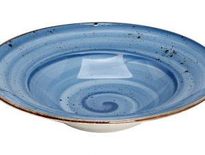 Πιάτο Σπαγγέτι Πορσελάνης Terra Blue ESPIEL 27εκ. TLF120K6 (Υλικό: Πορσελάνη, Χρώμα: Μπλε) – ESPIEL – TLF120K6