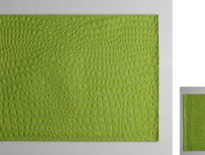 Σουβέρ Σετ 6τμχ Polyester ESPIEL 10×10εκ. HEN202 (Ύφασμα: Polyester, Χρώμα: Πράσινο ) – ESPIEL – HEN202