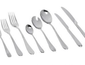 Μαχαίρι Φαγητού Ανοξείδωτο 18/0 Benefit ESPIEL 23,3εκ. CUS401K12 (Υλικό: Ανοξείδωτο, Χρώμα: Ασημί ) – ESPIEL – CUS401K12