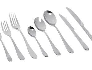 Πηρούνι Φαγητού Ανοξείδωτο 18/0 Benefit ESPIEL 20,7εκ. CUS404K12 (Υλικό: Ανοξείδωτο, Χρώμα: Ασημί ) – ESPIEL – CUS404K12
