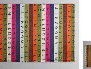 Σουβέρ Σετ 6τμχ Polyester ESPIEL 10×10εκ. HEN220 (Ύφασμα: Polyester) – ESPIEL – HEN220