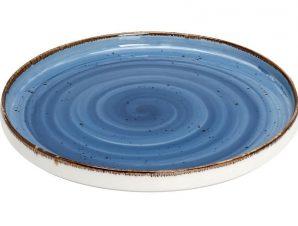Πιάτο Ρηχό Πορσελάνης Terra Blue ESPIEL 21εκ. TLF132K6 (Υλικό: Πορσελάνη, Χρώμα: Μπλε) – ESPIEL – TLF132K6