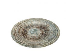 Πιάτο Φρούτου Stoneware Isla ESPIEL 21εκ. RPE103K6 (Χρώμα: Καφέ, Υλικό: Stoneware) – ESPIEL – RPE103K6