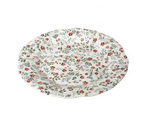 Πιάτο Ρηχό Stoneware Blossom ESPIEL 27εκ. RPL201K6 (Χρώμα: Ροζ, Υλικό: Stoneware) – ESPIEL – RPL201K6