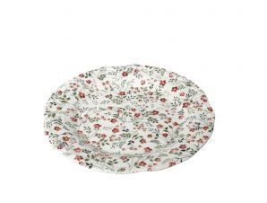 Πιάτο Φρούτου Stoneware Blossom ESPIEL 21εκ. RPL203K6 (Χρώμα: Ροζ, Υλικό: Stoneware) – ESPIEL – RPL203K6