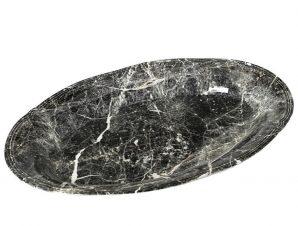 Πιατέλα Σερβιρίσματος Stoneware Marble ESPIEL 22×14εκ. RPM208K6 (Χρώμα: Λευκό, Υλικό: Stoneware) – ESPIEL – RPM208K6