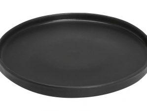 Πιάτο Ρηχό Πορσελάνης Terra Matt Black ESPIEL 21εκ. TLM132K6 (Υλικό: Πορσελάνη, Χρώμα: Μαύρο) – ESPIEL – TLM132K6