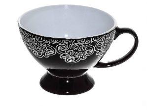 Κούπα Stoneware 320ml Vienna Black ESPIEL HUN104K6 (Χρώμα: Μαύρο, Υλικό: Stoneware) – ESPIEL – HUN104K6