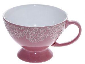 Κούπα Stoneware 320ml Vienna Pink ESPIEL HUN101K6 (Χρώμα: Ροζ, Υλικό: Stoneware) – ESPIEL – HUN101K6