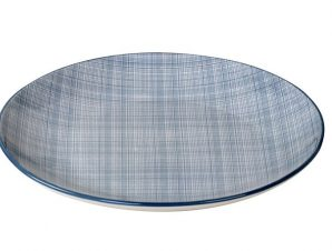 Πιάτο Ρηχό Stoneware Linea Blue ESPIEL 27εκ. ATA101K6 (Χρώμα: Γαλάζιο , Υλικό: Stoneware) – ESPIEL – ATA101K6
