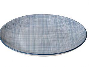 Πιάτο Φρούτου Stoneware Linea Blue ESPIEL 21εκ. ATA105K6 (Χρώμα: Γαλάζιο , Υλικό: Stoneware) – ESPIEL – ATA105K6