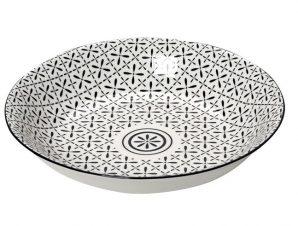 Πιάτο Βαθύ Stoneware Layla ESPIEL 23εκ. GUI420K6 (Χρώμα: Λευκό, Υλικό: Stoneware) – ESPIEL – GUI420K6