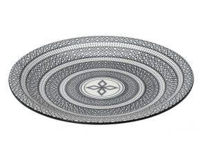 Πιάτο Ρηχό Φαγητού Stoneware Charlotte ESPIEL 26,5εκ. (Χρώμα: Λευκό, Υλικό: Stoneware) – ESPIEL – GUI388K6