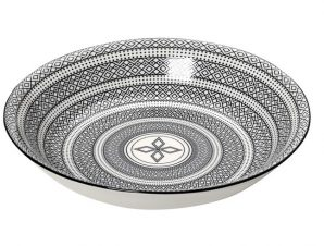 Πιάτο Βαθύ Φαγητού Stoneware Charlotte ESPIEL 23εκ. GUI421K6 (Χρώμα: Λευκό, Υλικό: Stoneware) – ESPIEL – GUI421K6