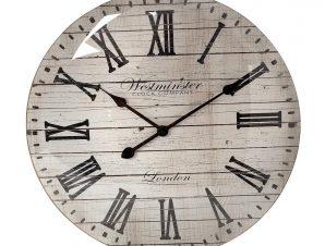 Ρολόι Τοίχου Polyresin Μπεζ ESPIEL 50,6×5,5×50,6εκ. ROL508 (Υλικό: Polyresin, Χρώμα: Μπεζ) – ESPIEL – ROL508