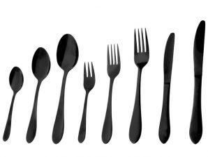 Μαχαίρι Φαγητού Ανοξείδωτο 18/0 Prime ESPIEL 22,5εκ. CUB101K12 (Υλικό: Ανοξείδωτο, Χρώμα: Μαύρο) – ESPIEL – CUB101K12