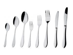 Κουτάλι Φαγητού Ανοξείδωτο 18/0 Prime ESPIEL 20εκ. CUS103K12 (Υλικό: Ανοξείδωτο, Χρώμα: Ασημί ) – ESPIEL – CUS103K12