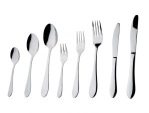 Μαχαίρι Φαγητού Ανοξείδωτο 18/0 Prime ESPIEL 22,5εκ. CUS101K12 (Υλικό: Ανοξείδωτο, Χρώμα: Ασημί ) – ESPIEL – CUS101K12
