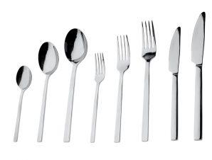 Μαχαίρι Φαγητού Ανοξείδωτο 18/0 Divine ESPIEL 23,5εκ. CUS201K12 (Υλικό: Ανοξείδωτο, Χρώμα: Ασημί ) – ESPIEL – CUS201K12