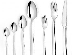 Μαχαίρι Φαγητού Ανοξείδωτο 18/0 Sirius ESPIEL 21εκ. CUT1003K12 (Υλικό: Ανοξείδωτο, Χρώμα: Ασημί ) – ESPIEL – CUT1003K12